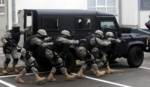 swat military engagement