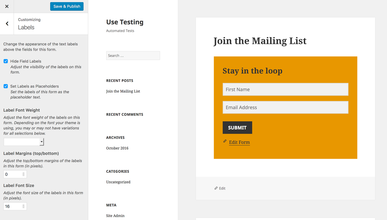 Styling MailChimp forms without pulling your hair out