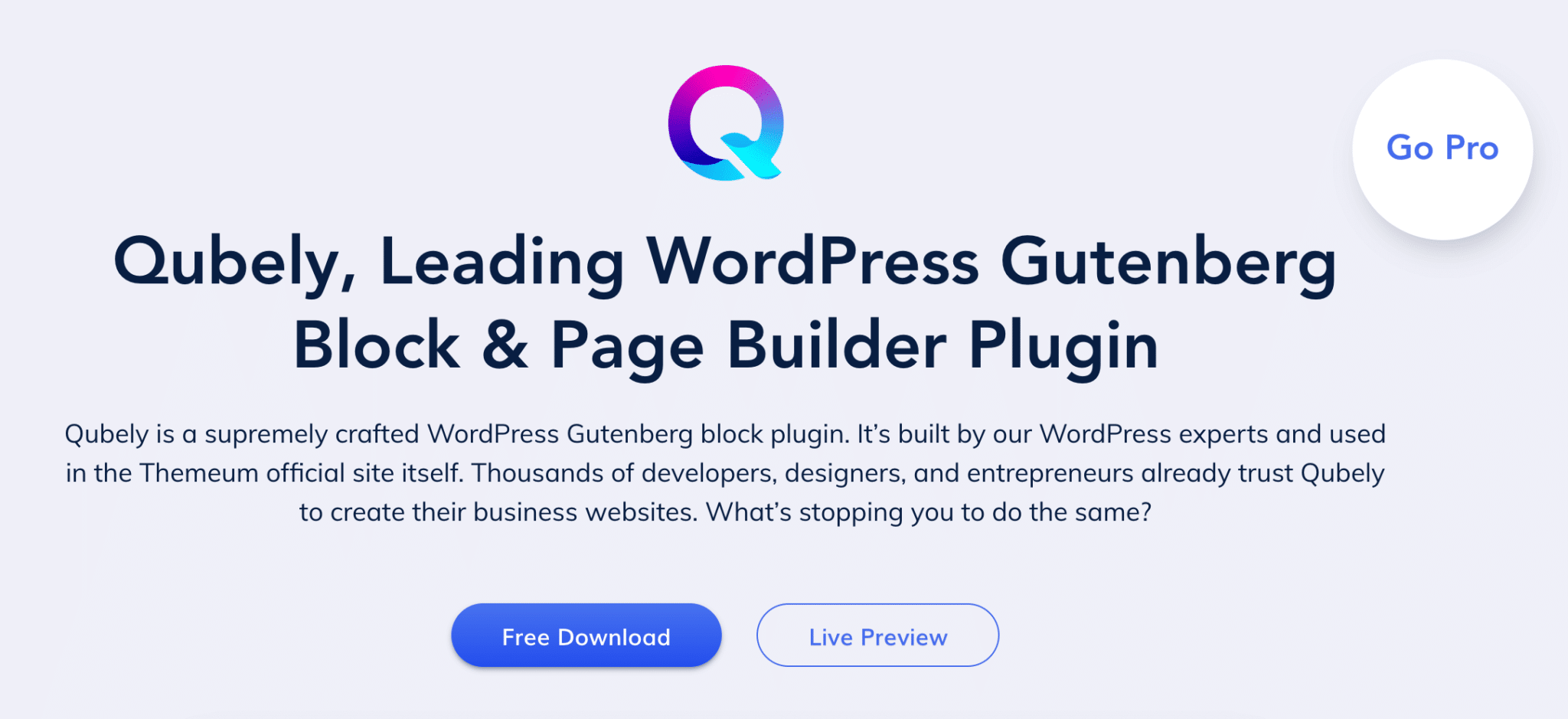 Looking for Gutenberg Blocks? Try Qubely! - Chris Lema
