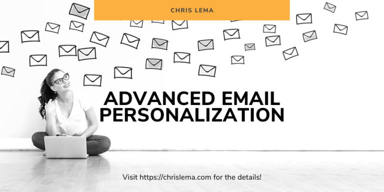 advanced email personalization