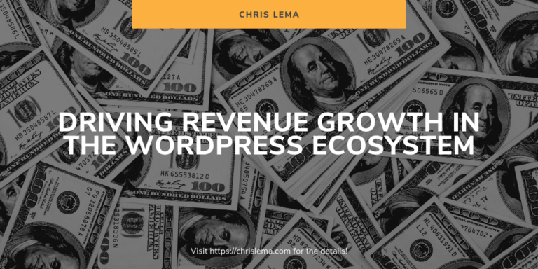 Driving Revenue Growth in the WordPress Ecosystem