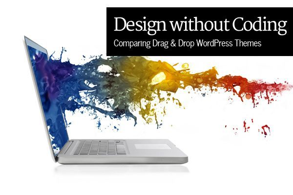 Comparing Drag and Drop WordPress Themes