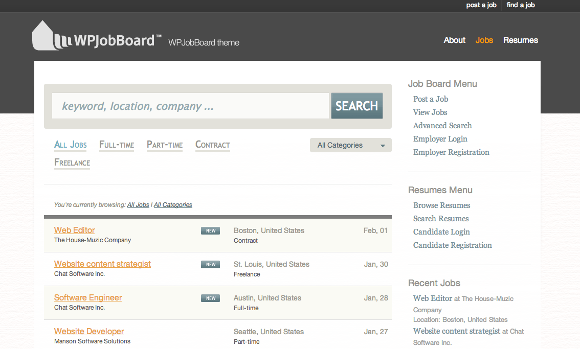 Five WordPress Job Board Solutions to Check Out